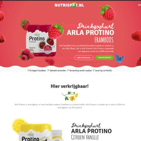 Nutrispot webshop
