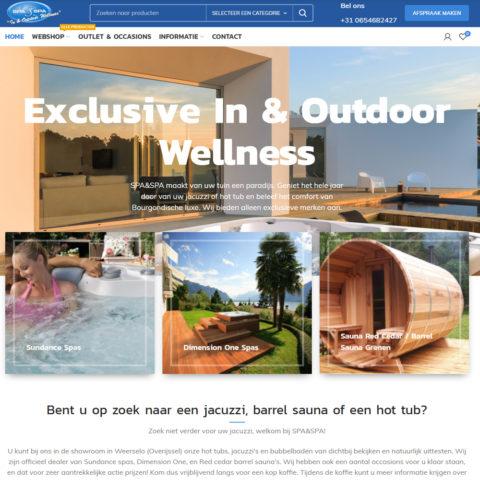 Spa & Spa in en outdoor wellness